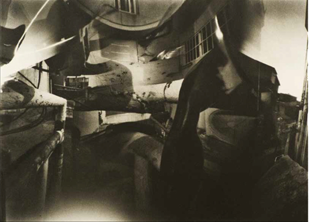 Do Yang Zu, Hexascape 42, 2013, Gum bichromate on Canson Arches, Kodak TMax 100, handmade pinhole camera, 55 x 80 cm