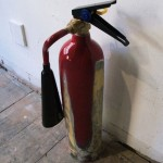 Jung Pyo Hong, Almost Art Fire Extinguisher, 2012. Resin, epoxy, fomex, 10 x 55 cm.