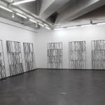 Wonwoo Lee, Gates of the world, 2012. Steel, 241 x 141 x 2 cm.