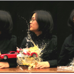 "Shin Kiwoun, ""Reality Test, take 2-3"", 2010. Video installation."