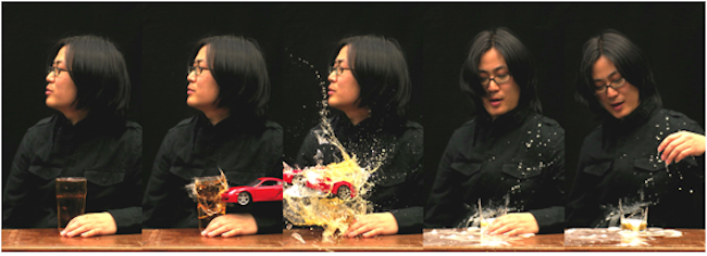 Kiwoun Shin, Reality Test Take 2-3. 2010, No.8