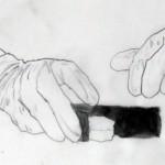 Sejin Kim, Hana-Set, 2011. Hand drawn looped animation, 1'1''.