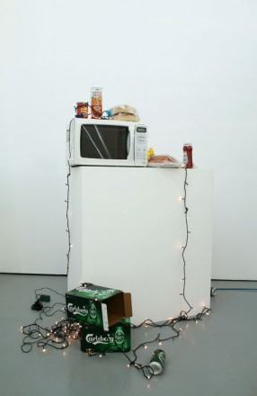 Everyone Deserves To Have Hot Dog, 2011. Variable Dimension