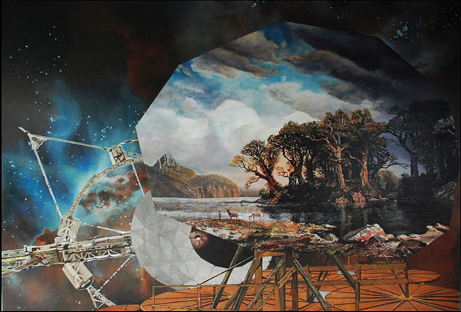 Jeoff Litherland, I Knew It Would Come To This (Old Horizon) 2012. Oil on canvas, 180 x 140 cm.