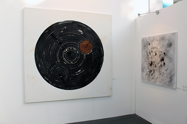 Sungfeel Yun, Chaos, Cosmos and Circulation Series at Art14.