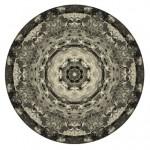 Jess Littlewood, Kaleidoscope (Vortex), 2011. Pigment Print on Paper, 100 x 100 cm.