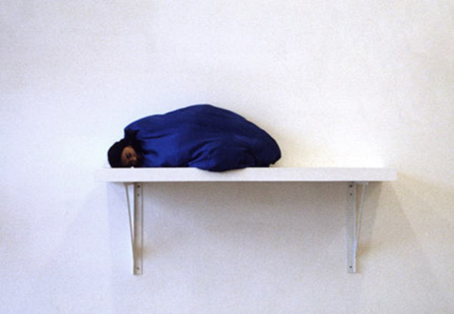 "Yingmei Duan, ""Sleeping"", 2004. Performance, approx 8 hours."