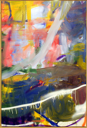 No.1  150-100 cm  Oil on canvas