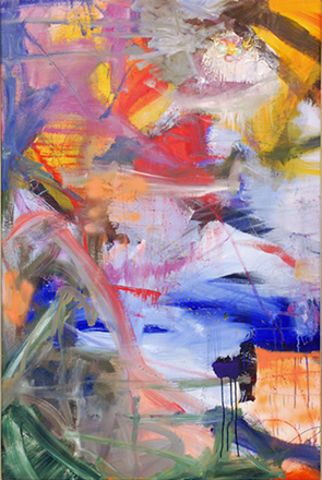 No.2  150-100 cm  Oil on canvas