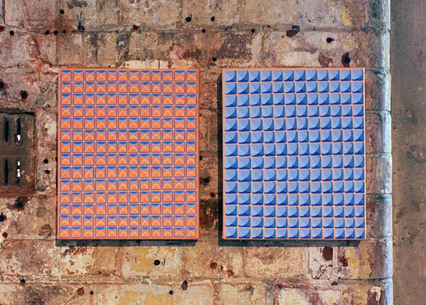 Yumi Chung, Here, 2014, Acrylic paint on canvas, 30.5×25.4cm