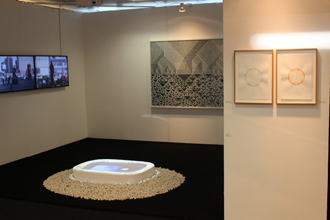London Art Fair 2015. Chang Kyum Kim, Mioon, Troika