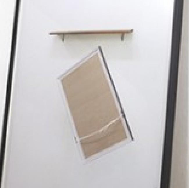 Lag 3, 2014. Framed C-print, Wood, Metal, 103 × 99.6 × 19.2 cm