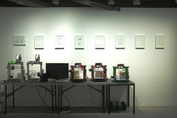 Jung Seung, The prometheus's String, Installation in Hanmi Gallery, exhibition view2