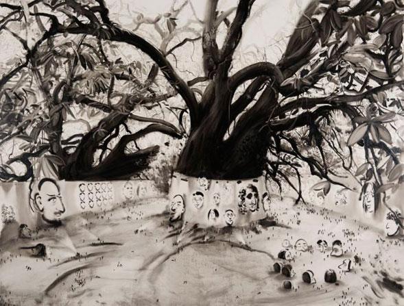 Lu-Chao_Forest-Art-Fair_Oil-on-Canvas_250x190cm_2014