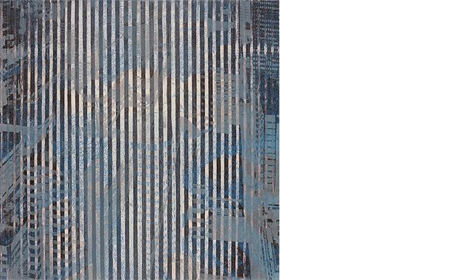 WebsiteJimin Lee, 2014, Fabricated Land III, Etching and Laser-cut wood block, 76 x 76cm, ed.5