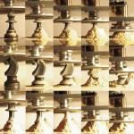 "Shin Kiwoun, ""Desire has No History : Chess"", 2009, 2-channel video installation, full HD H.264 codec, 12minS."