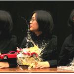 "Shin Kiwoun, ""Reality Test, take 2-3"", 2010. Video installation."