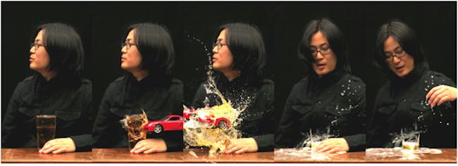Kiwoun Shin, Reality Test Take 2-3. 2010, No.8