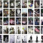 "Sang Jin Kim, ""Human Copyright Information"", 2007. Digital Print, video installation."