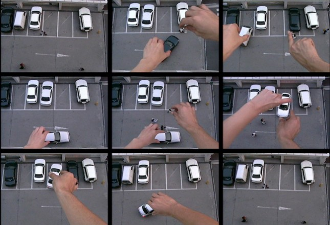 "Junebum Park, ""1 Parking"", 2001, Single-channel, DV, 05'25"". NTSC, Silent, Colour. Edition of 20."