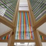Yumi Chung, Untitled, 2013, Fabric, Wood, Casters,  183×285cm