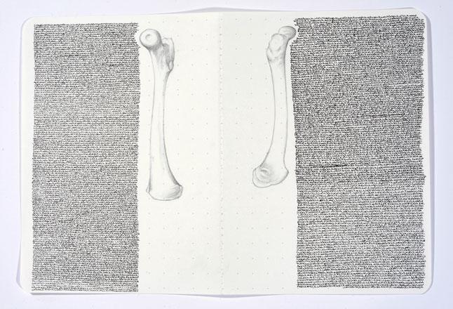Aisha-Abid-Hussain,A-Fine-Balance-between-Love-and-Despair-Series-X,7x10''-Permanent-Japanese-ink,-lead-pencil-on-paper-2017